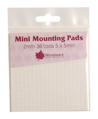 MINI MOUNTING PADS - BLACK