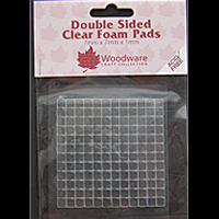 7x7x1mm CLEAR MOUNTING PADS